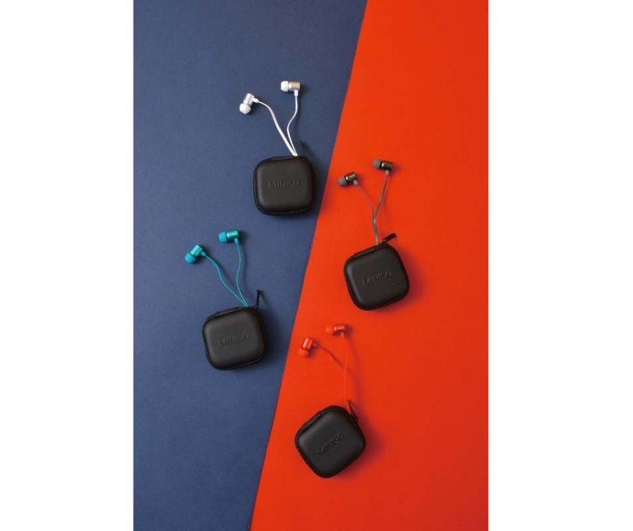 Металлические наушники-вкладыши (серый)
