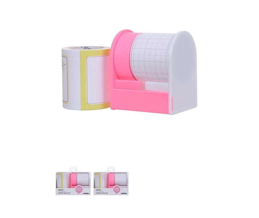 Набор бумажной ленты (розовый)