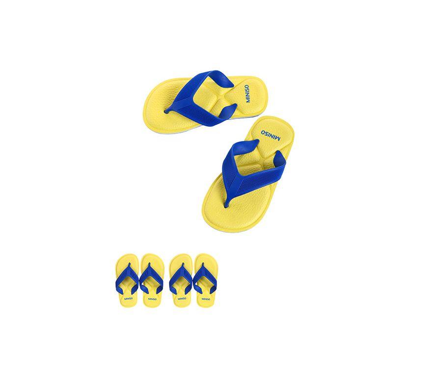 Спортивная серия детских шлепанцев (желтый S28 / 29)