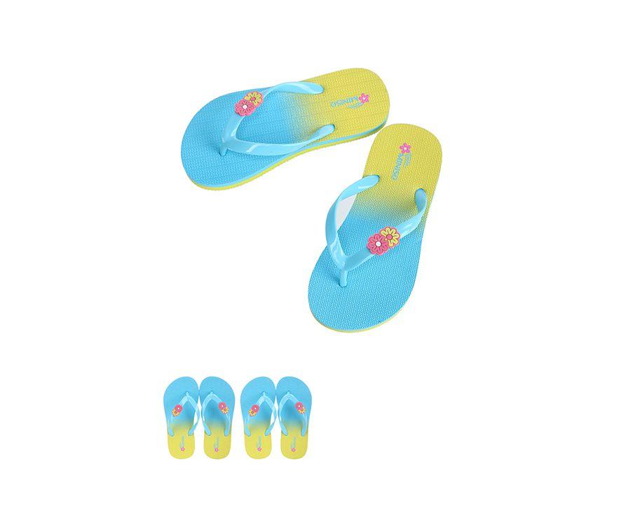 Детские шлепанцы S28 / 29 (синий + желтый)