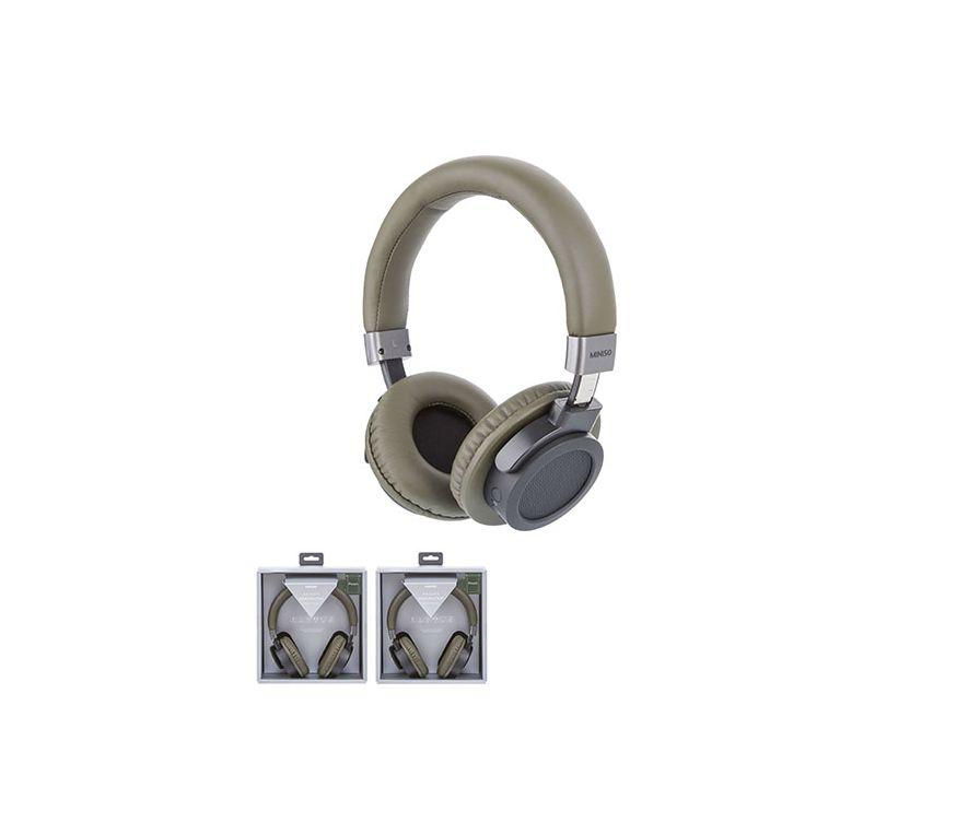 Гарнитура беспроводная  Bluetooth, модель  H015, цвет зеленый
