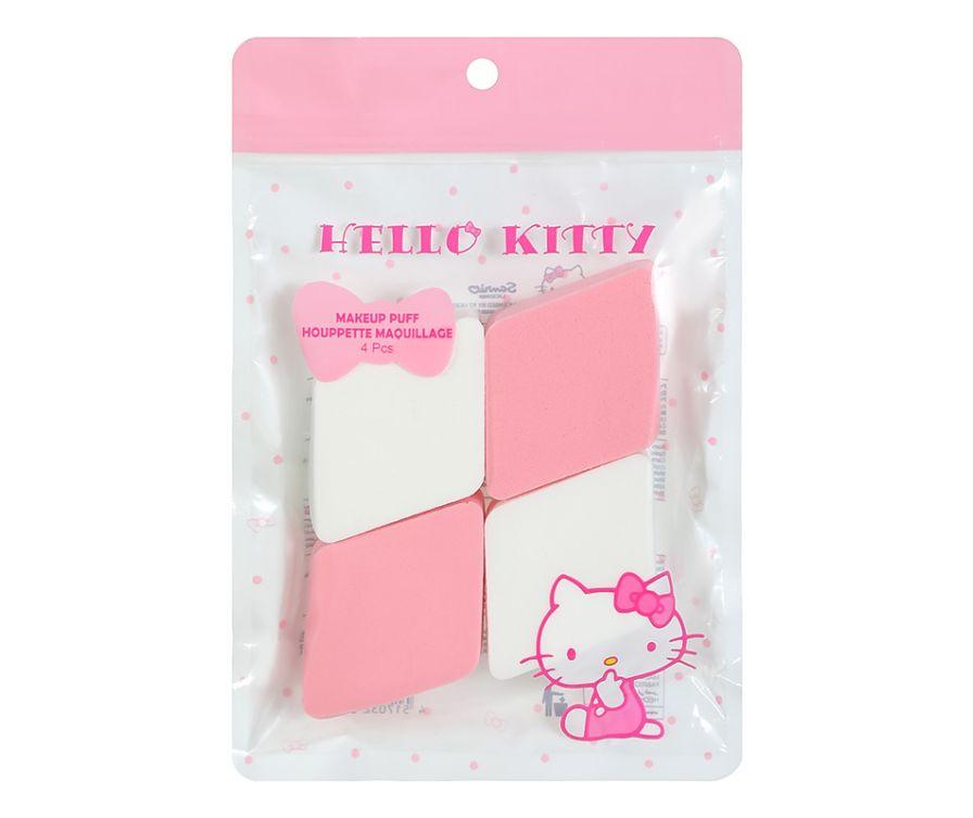 Губка для макияжа (спонж), серия Sanrio Hello Kitty (4 шт.)