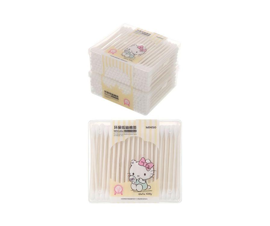 Ватные палочки (150 шт. * 2 коробки), серия Sanrio Hello Kitty