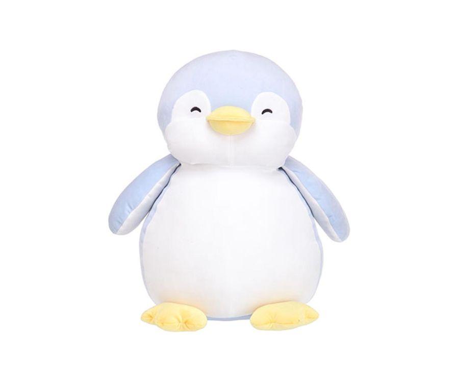 Игрушка плюшевая большой Пингвин, цвет синий