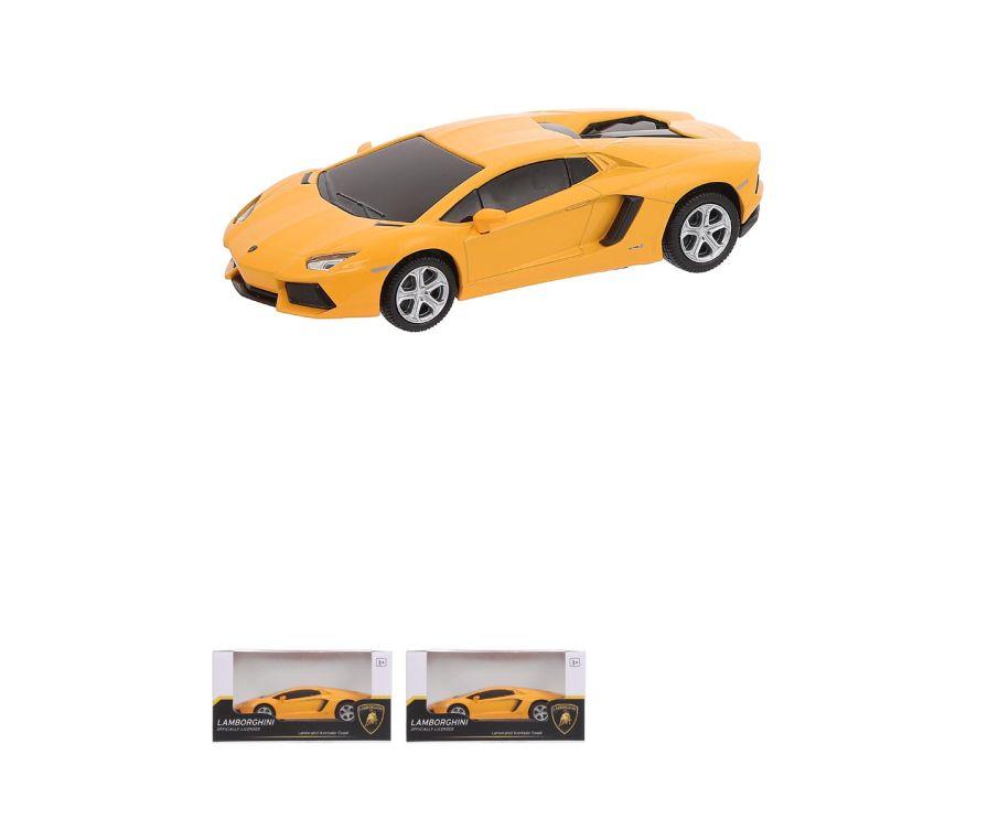 Игрушка для детей 1:32 Lamborghini Aventador Coup (Touch Type) - 68328 (оранжевый)