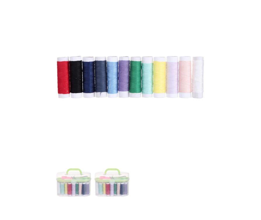 Коробка для рукоделия (Розовый Зеленый) 15 * 11см