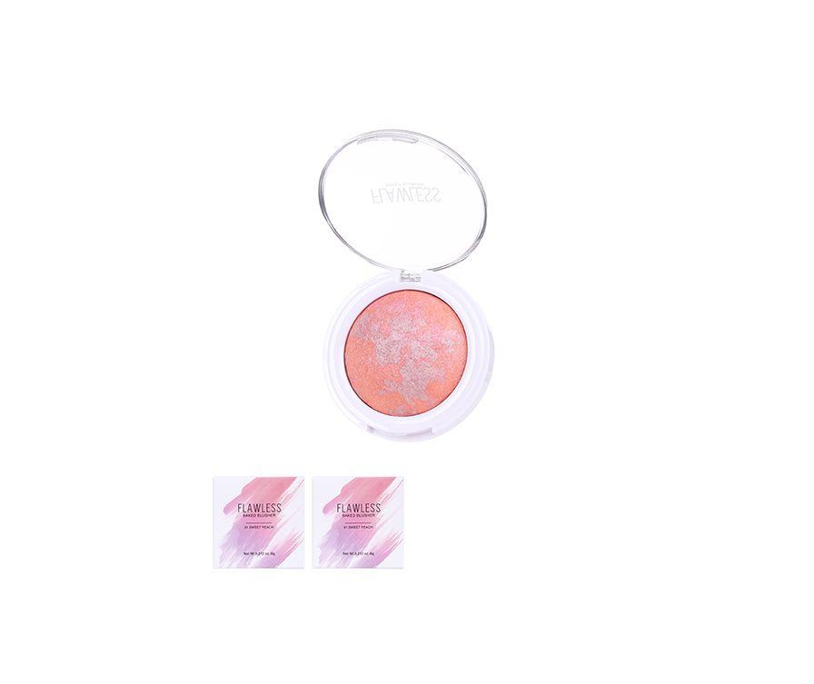 Miniso Румяна Flawless, цвет (01 сладкий персик)