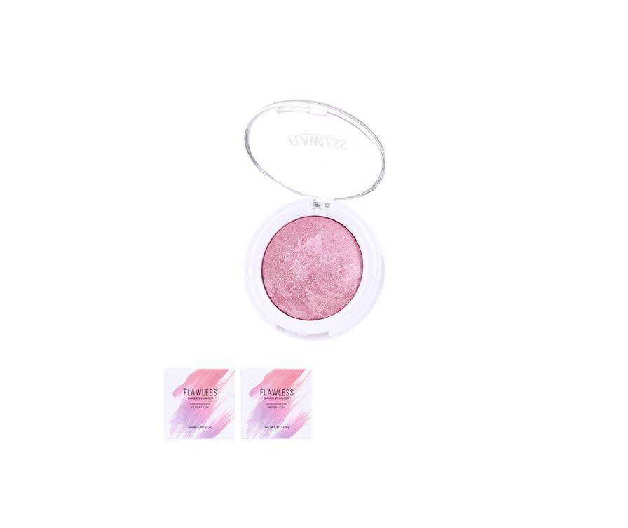 Miniso Румяна Flawless, цвет(02 розовый розовый)