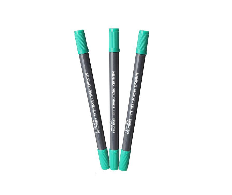 Ручка пластиковая, цвет зеленый