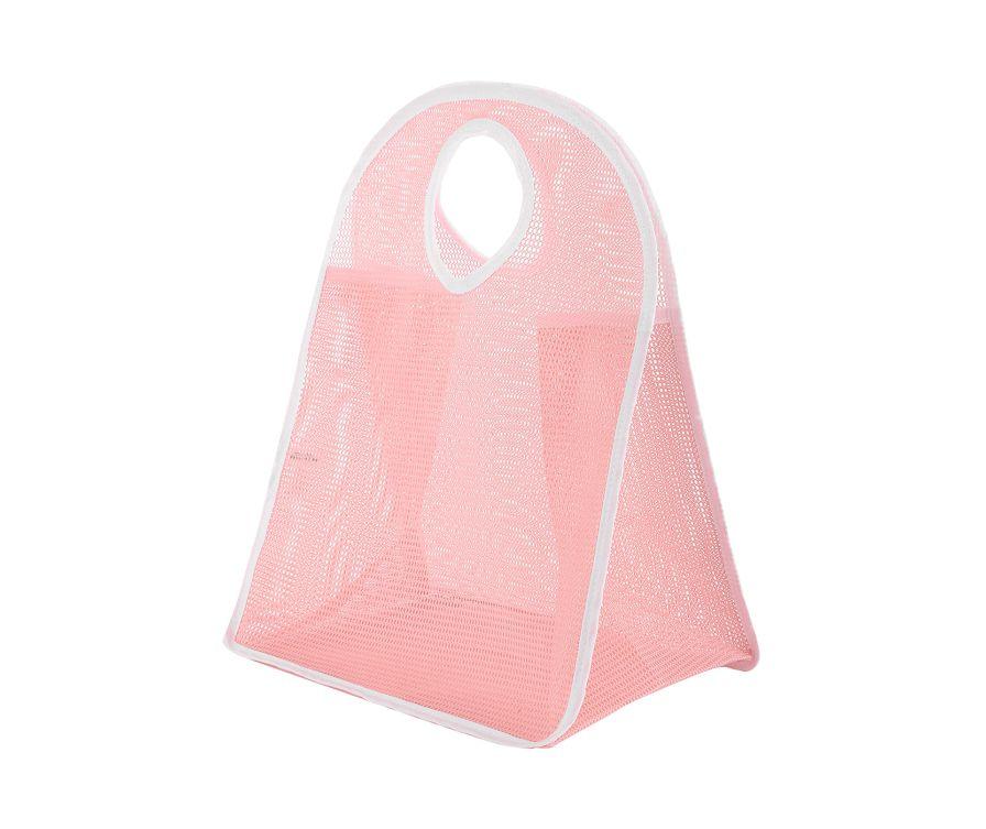 Сумка сетка (розовый)