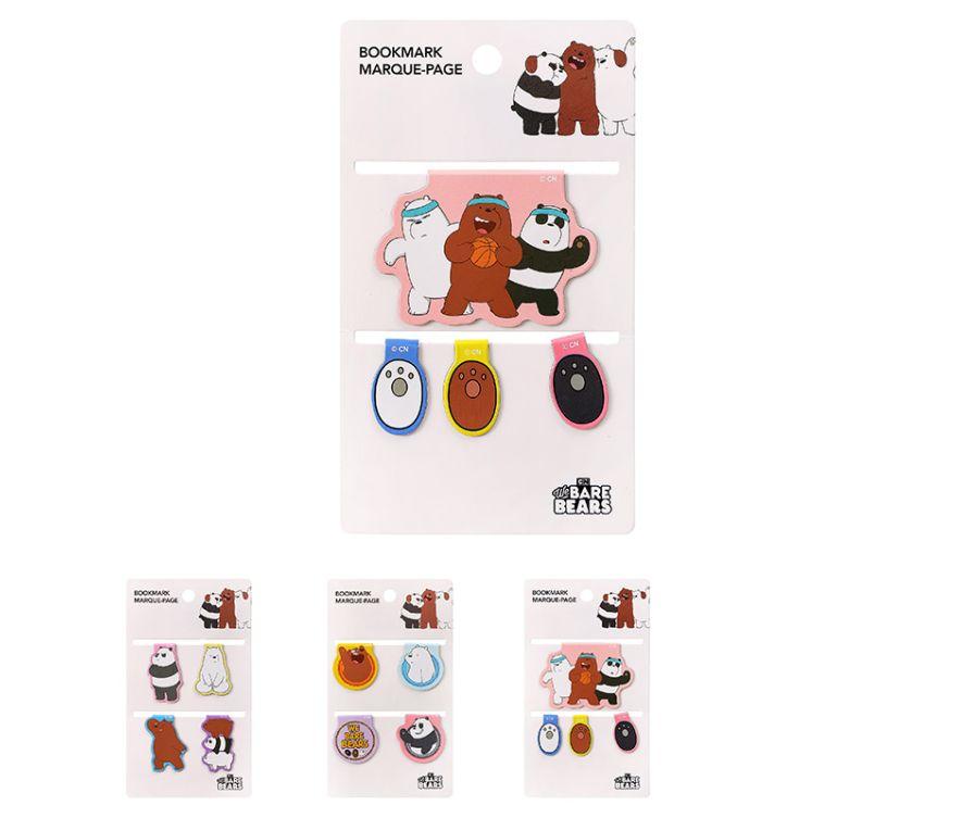 Магнитная закладка, серия We Bare Bears