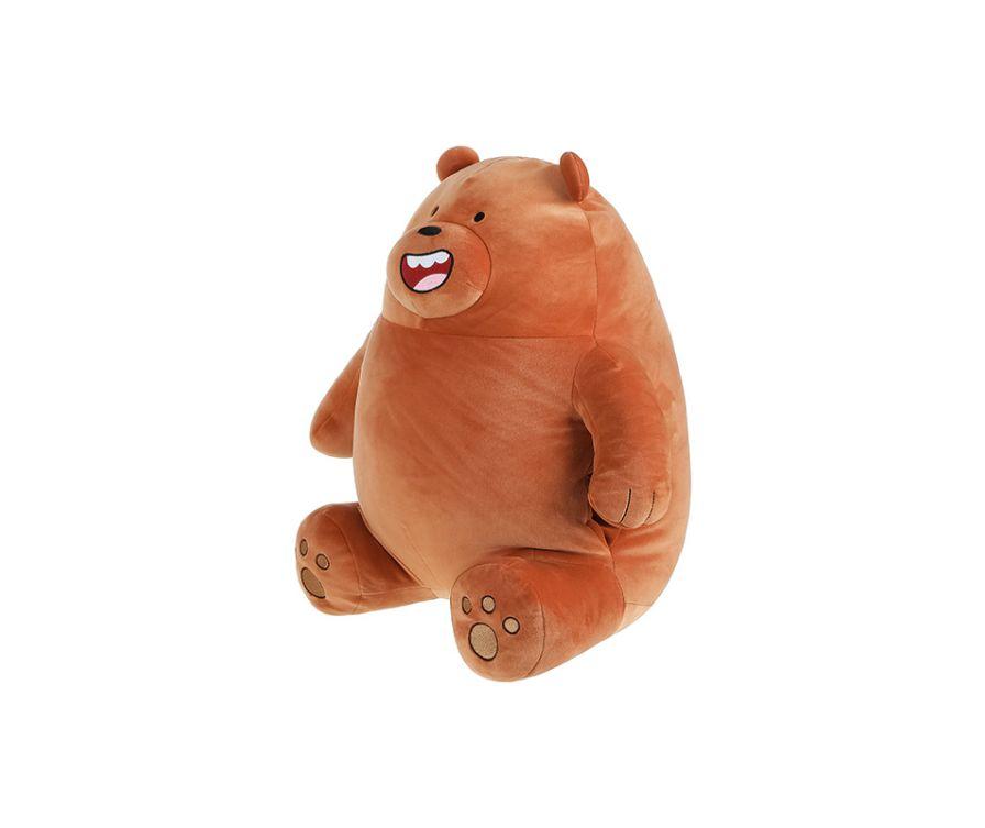 Игрушка мягкая подушка, серия We Bare Bears (Гризли)