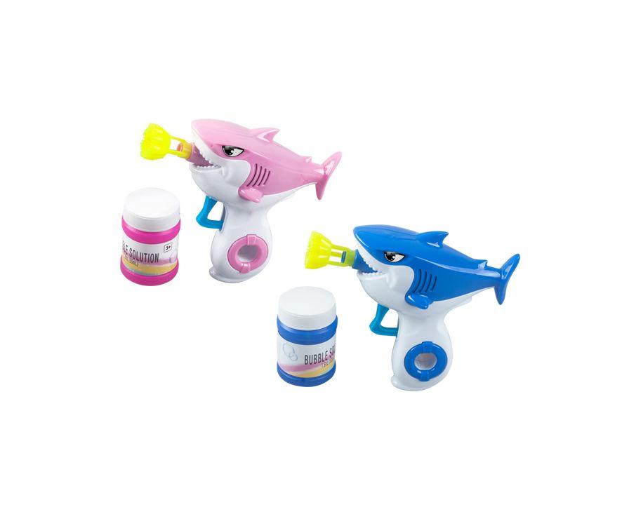 Игрушка-мыльные пузыри Shark Bubble Gun