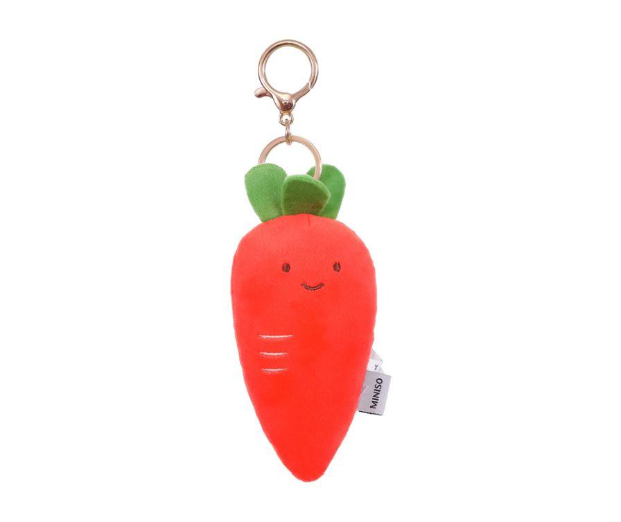Игрушка мягкая брелок  (морковка)
