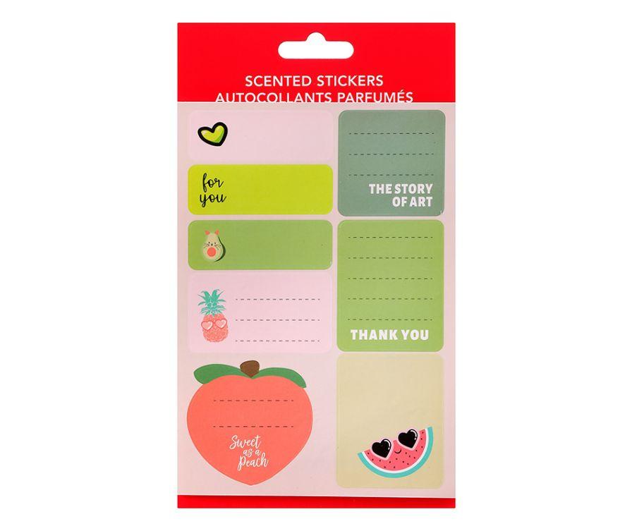 Наклейки ароматизированные (Scented Stickers)