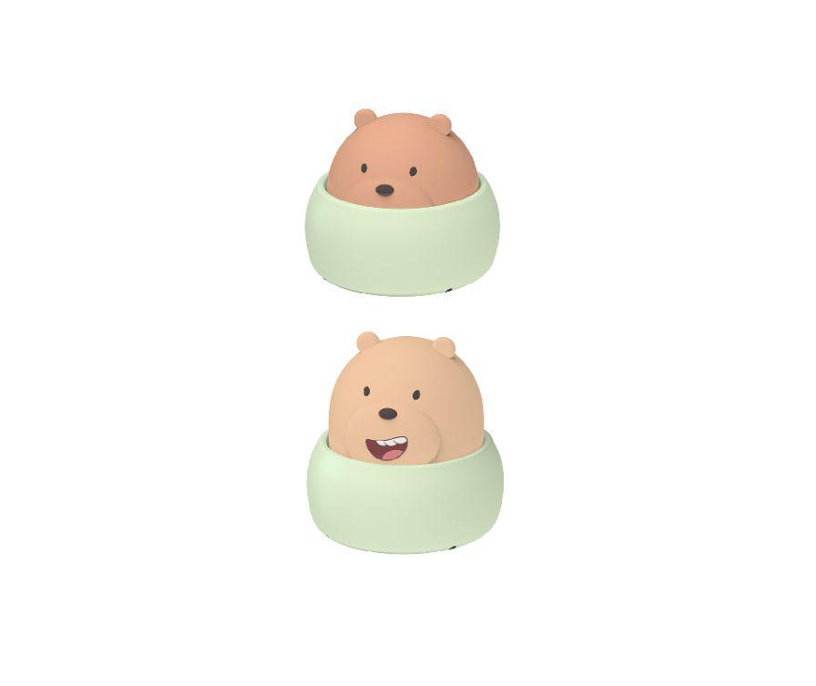 Светильник ночник, серия We Bare Bears