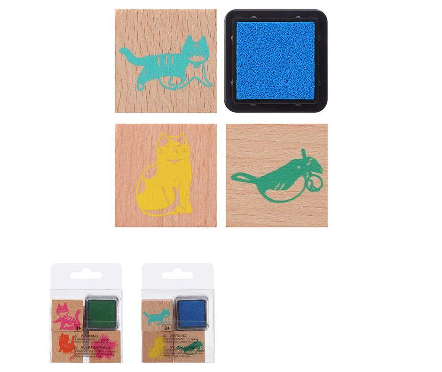 Набор штампов для творчества, серия Токио