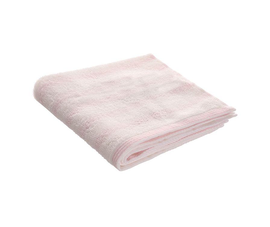 Полотенце для лица, 2 шт (розовый)