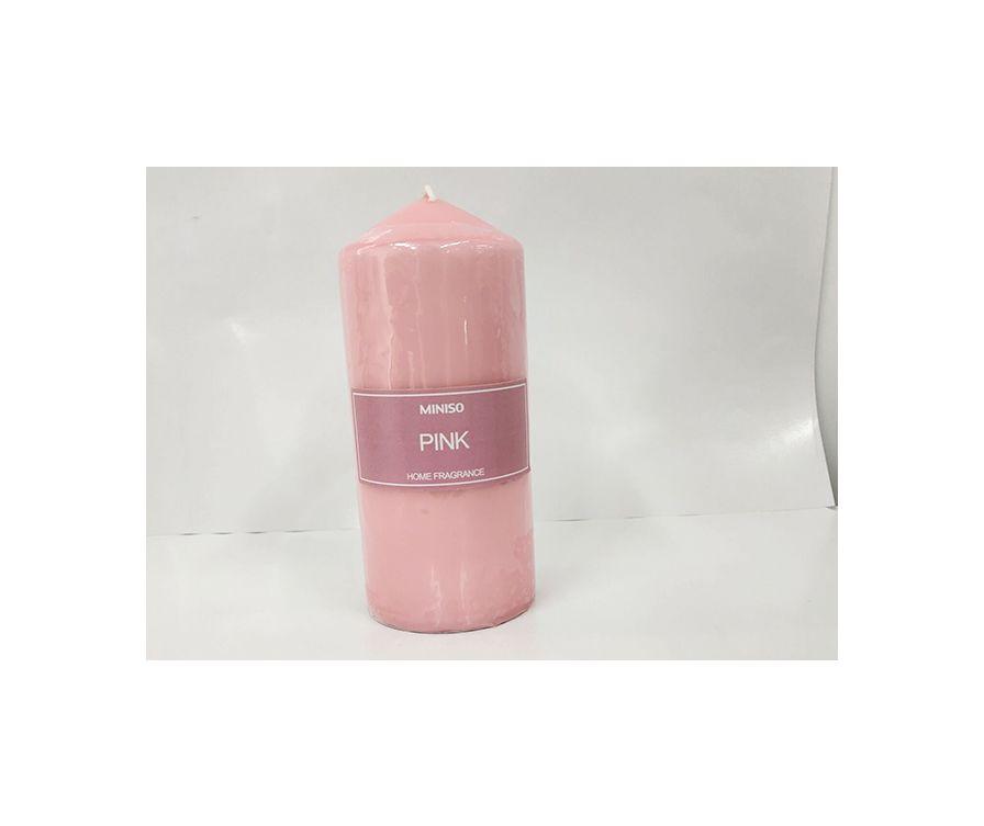 Свеча L (розовый)