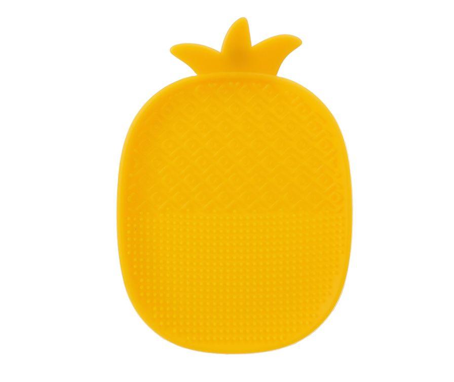 Щетка - коврик для очистки кистей (ананас)