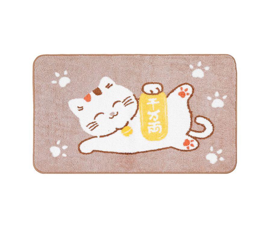 Коврик, серия Lost in Tokyo Cat, 50 * 80  (коричневый)