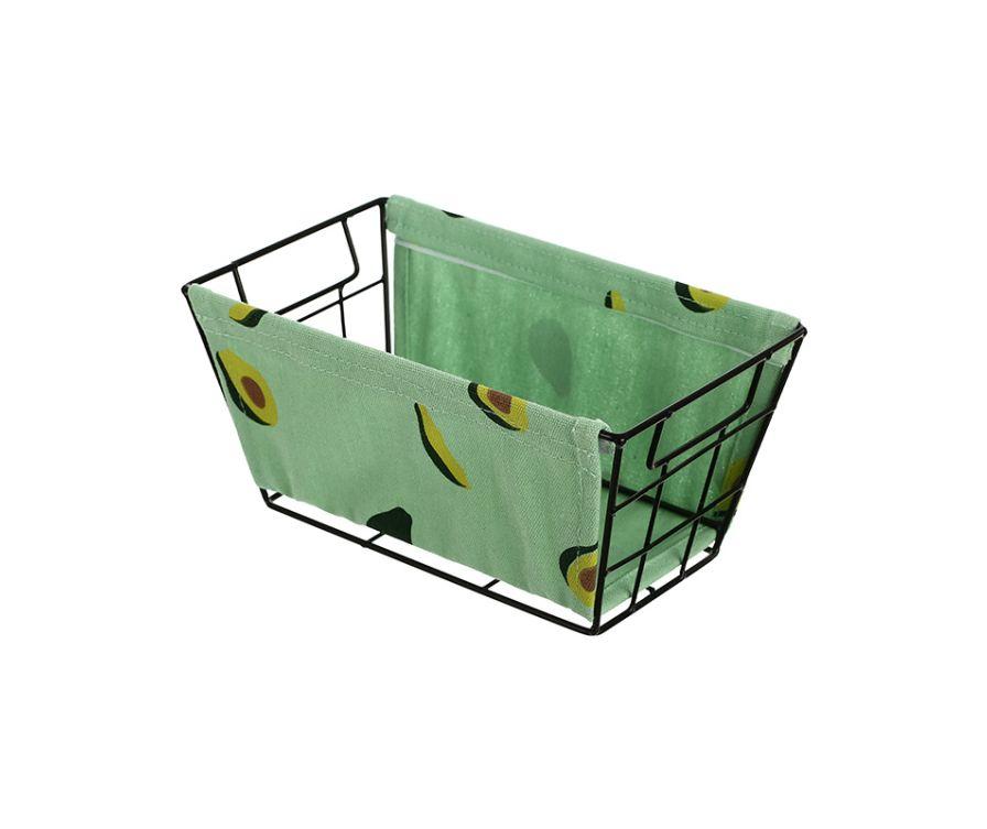 Корзина для Хранения (маленькая) (Авокадо)
