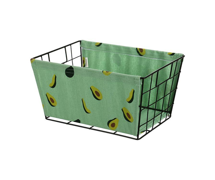 Корзина для хранения (большая) (авокадо)