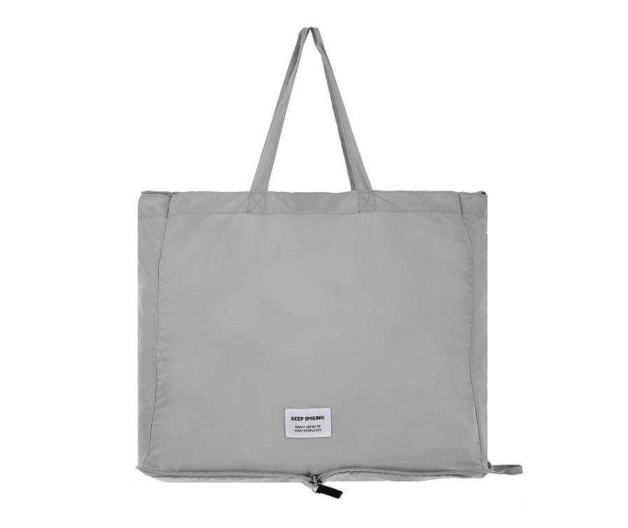 MINIGO Складная большая сумка (серый)