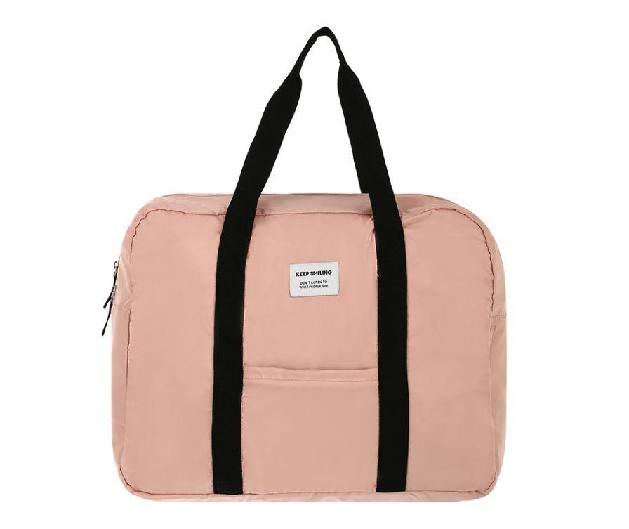 Складная сумка (розовый)