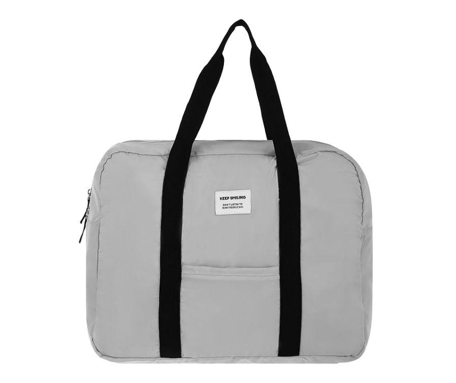 Складная сумка (серый)