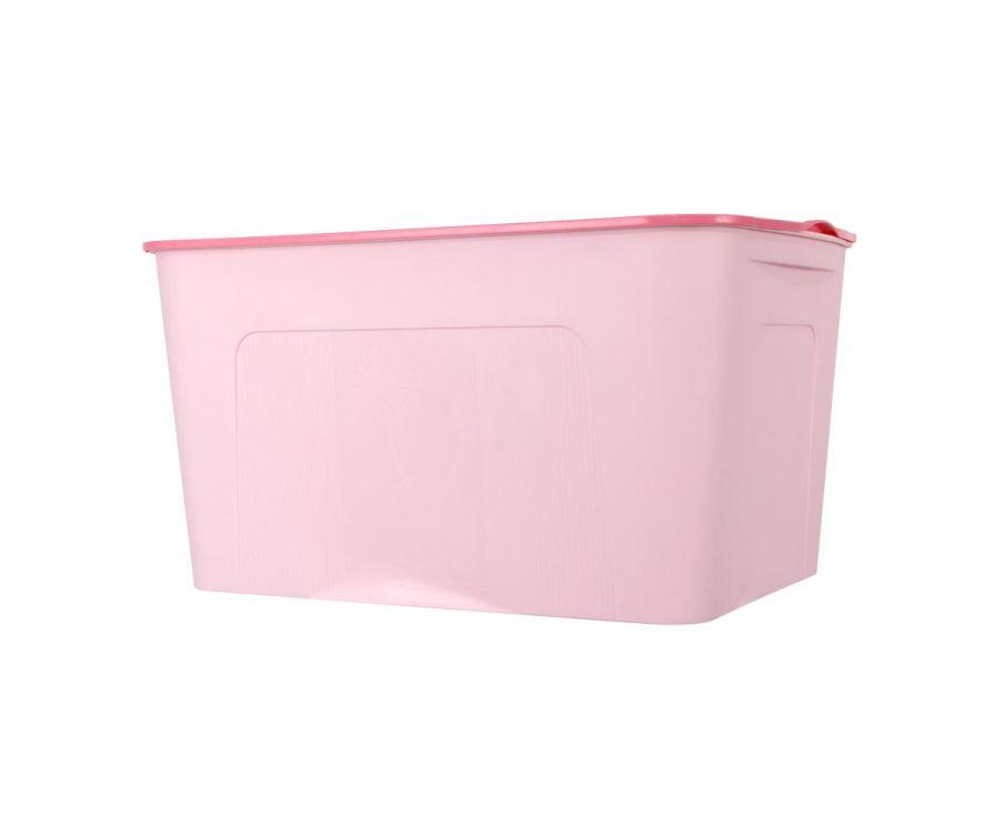 Органайзер с крышкой (розовый)