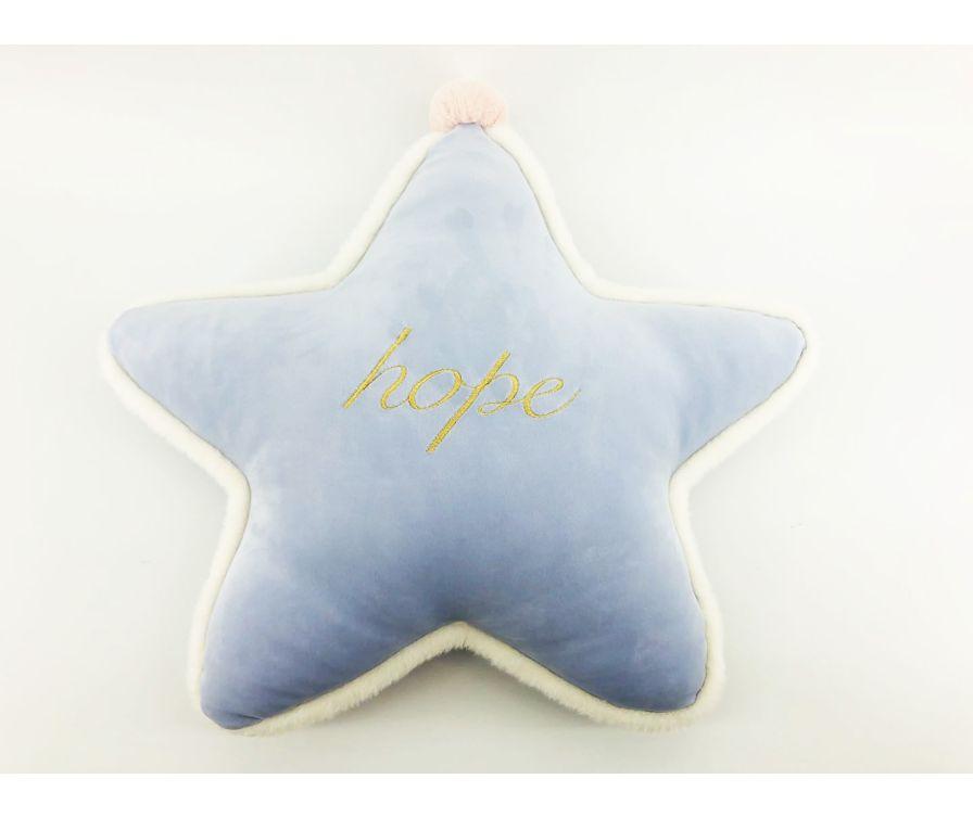 подушка в форме звезды