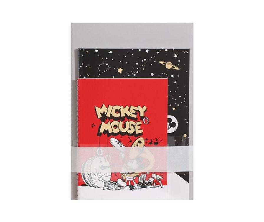 Записная книжка с ручкой, серия Mickey Mouse 24 листа (3 шт)