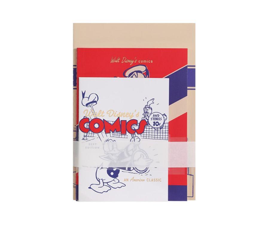 Записная книжка с ручкой, серия Donald Duck 24 листа (3 шт)