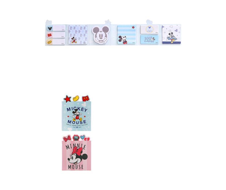 Набор для заметок, серия Mickey Mouse 9 штук * 20 листов