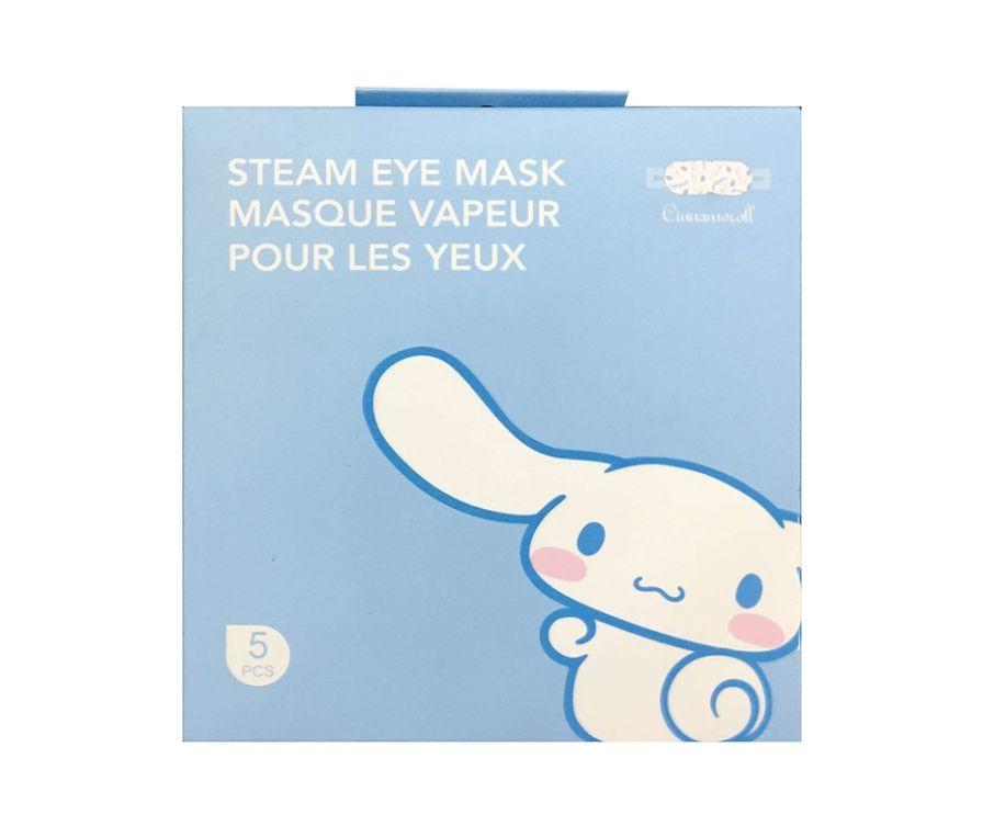 Паровая маска для глаз, серии Sanrio Characters Steam  Cinnamoroll, 5 шт (грейпфрут)