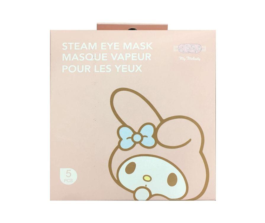 Паровая маска для глаз, серии Sanrio Characters Steam My Melody, 5 шт (грейпфрут)