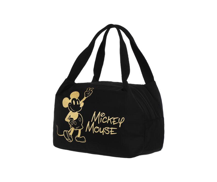Позолоченная сумка для обедов Bentо Bag, Mickey Mouse Collection  (черный)