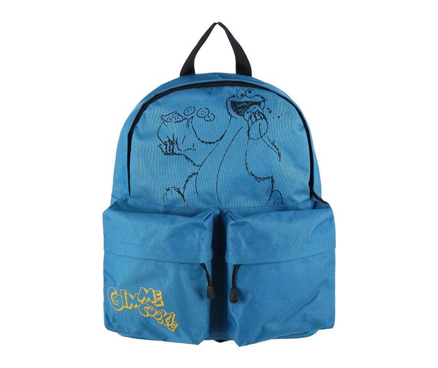 Мужской рюкзак, серия Sesame Street (синий)