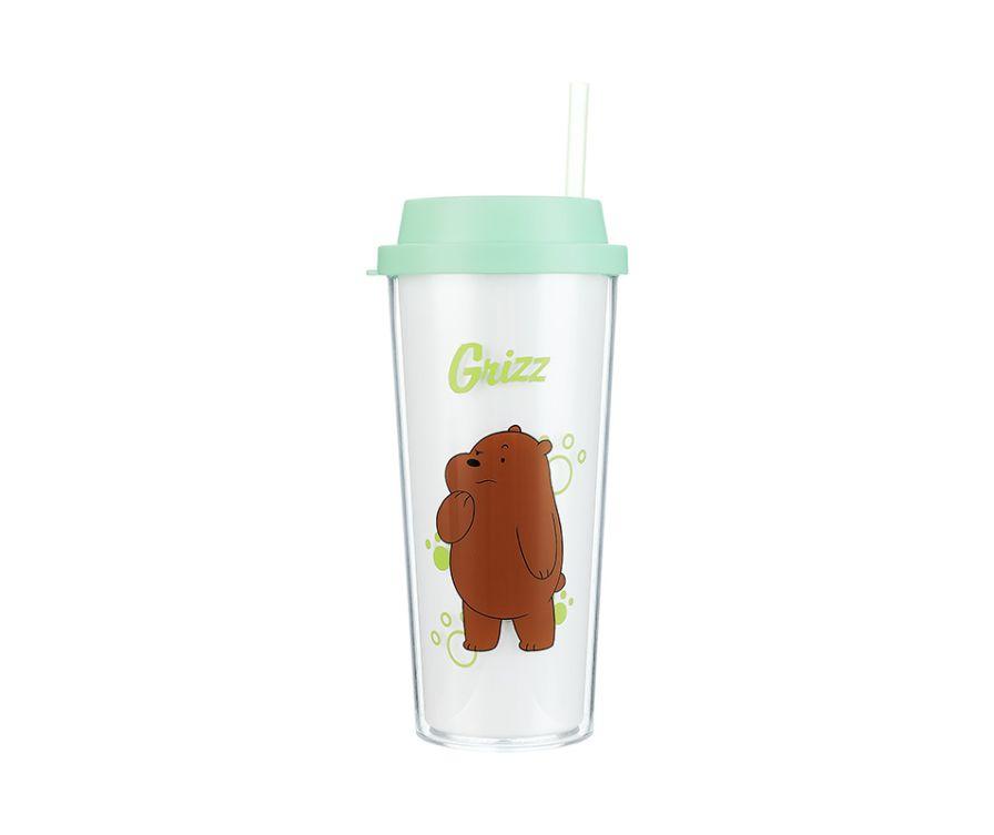Двухслойная бутылка, серия We Bare Bears 550 мл (Гриз)