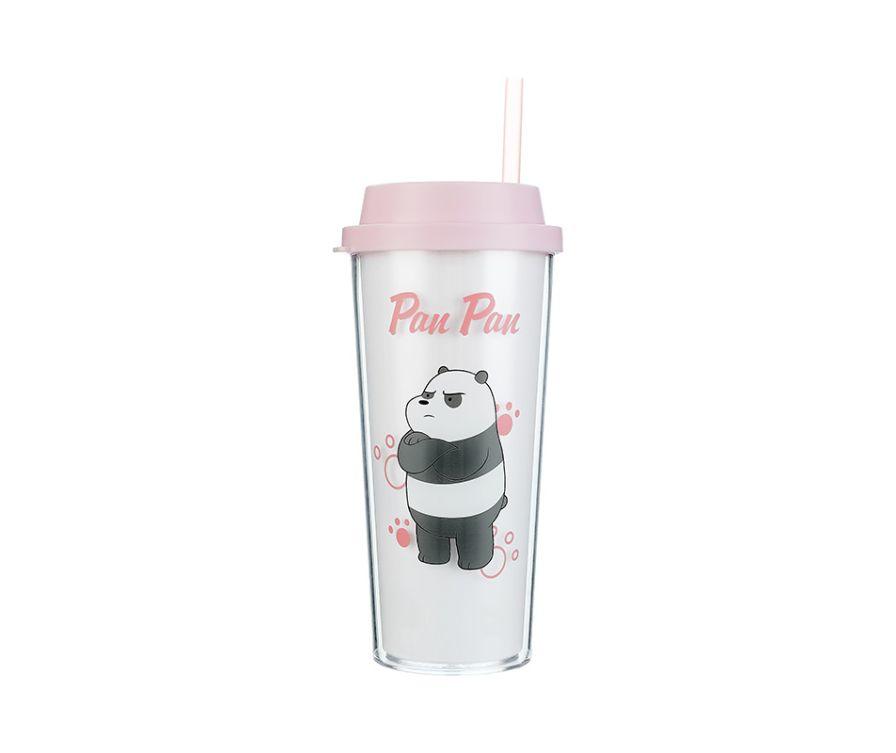 Двухслойная бутылка, серия We Bare Bears 550 мл (Панда)