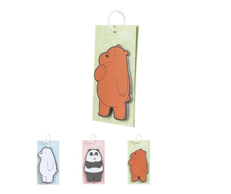 Блокнот, серия We Bare Bears (2 шт)
