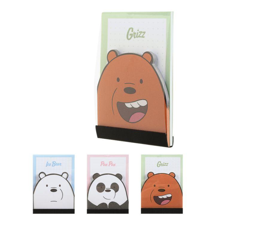 Бумага для заметок, серия We Bare Bears