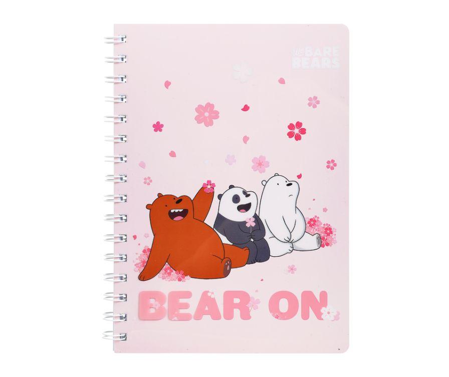 Блокнот ПВХ, серия We Bare Bears