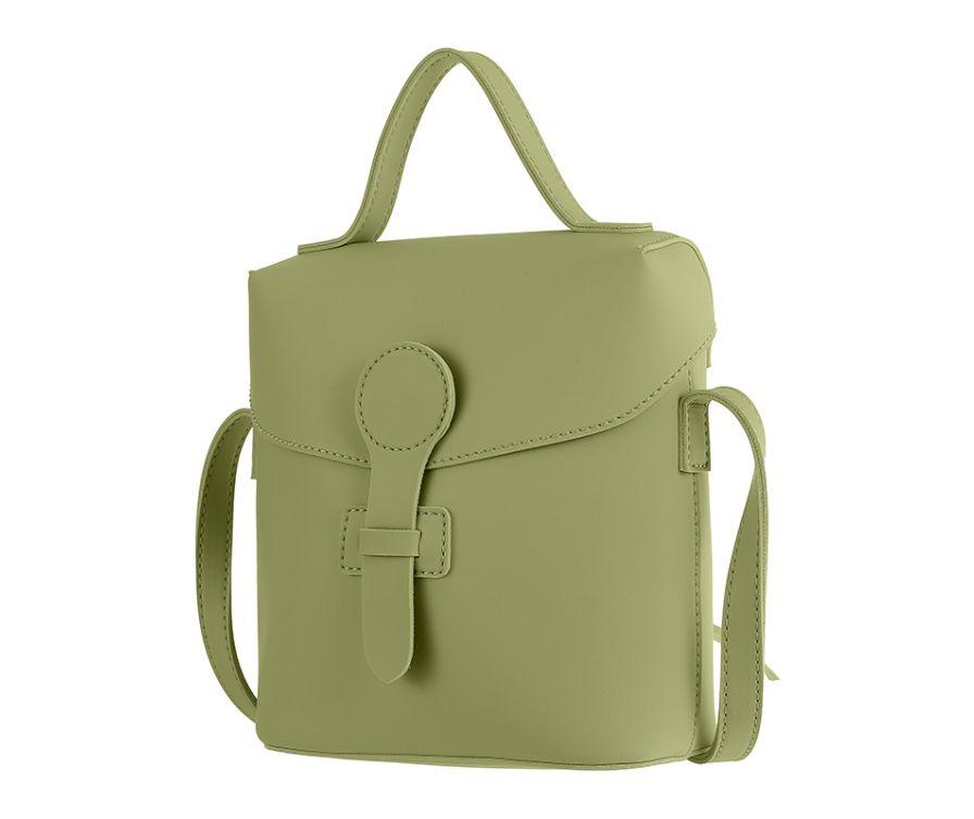Сумка через плечо в элегантном стиле (зеленый)