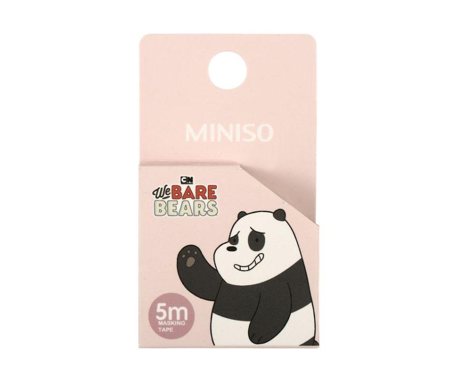 Лента Washi Tape, серия We Bare Bears