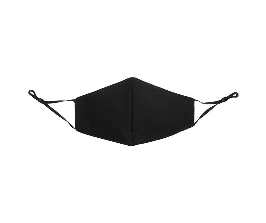 Классическая повязка (маска) для лица (черная)