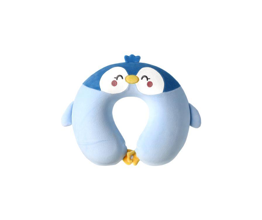 Подушка U-образная Penguin (синий)