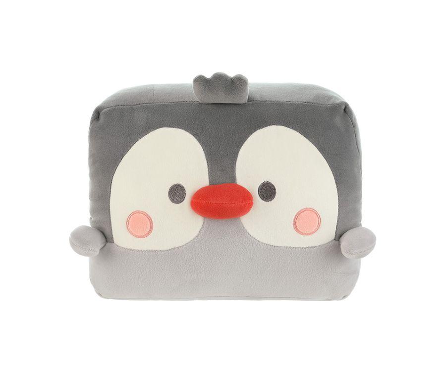 Подушка Penguin Nap Pillow (серый)