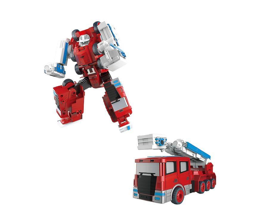 Игрушка Робот-трансформер (красный) (SY6278A-4 Кран)